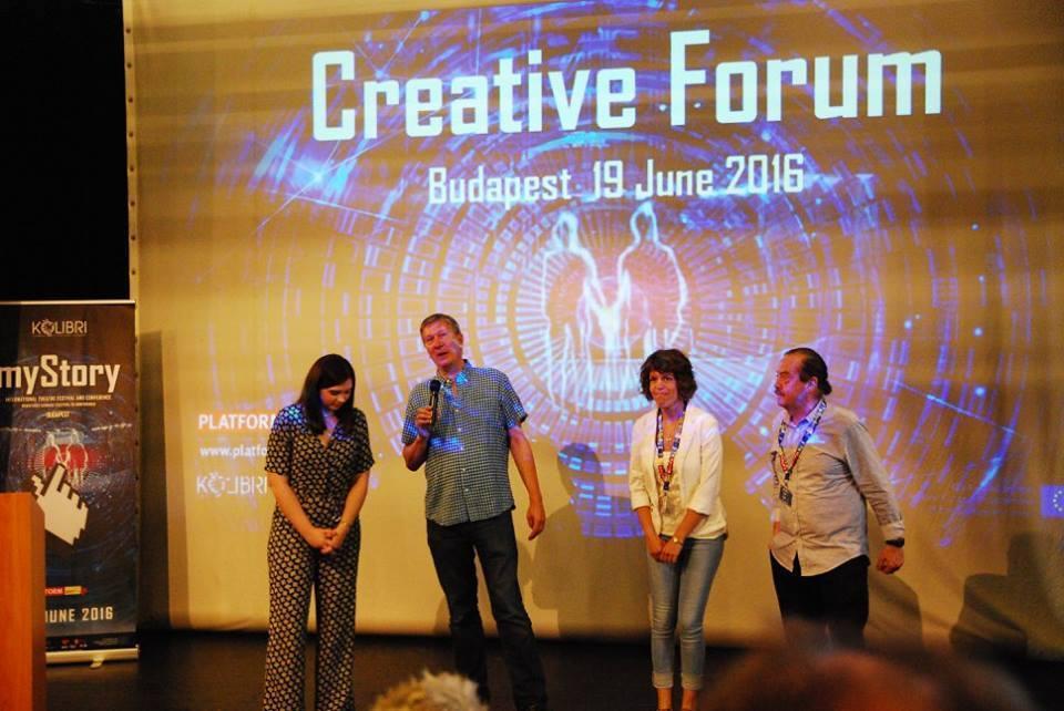 Kreativ Forum megnyitó_Johanna