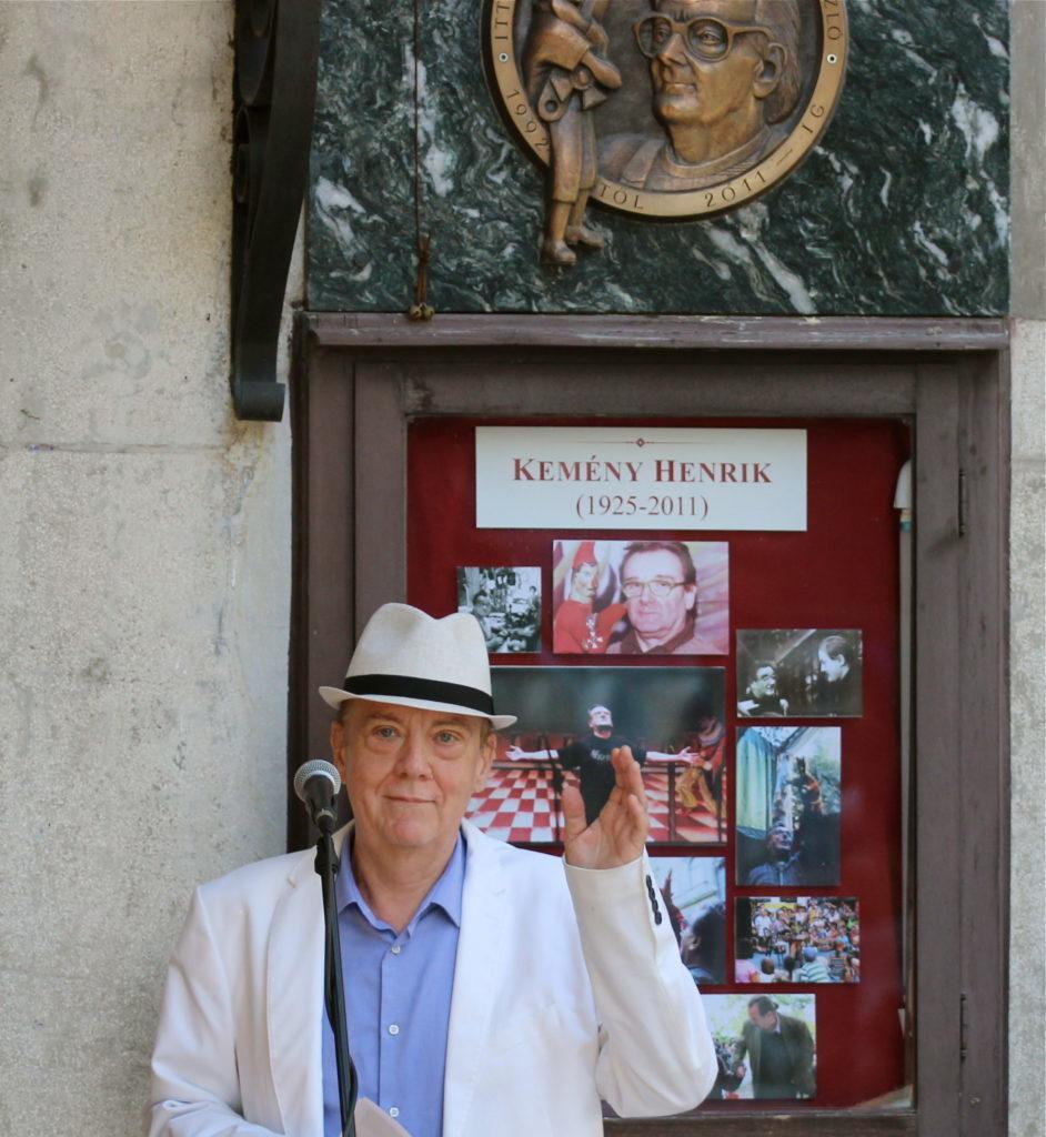 Kemény Henrik  emléktábla koszorúzás_Novák János