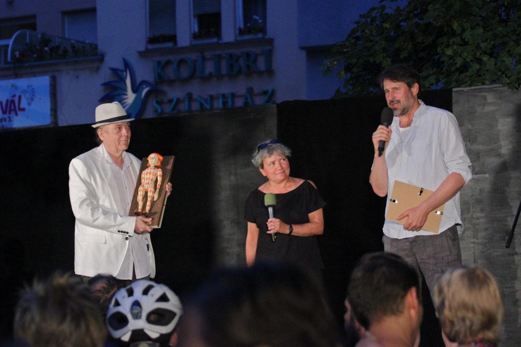 Michel Indali díjátadó_Novák János, Szűcs Katalin Ágnes, Vidovszky György